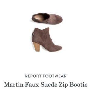 Report Faux Suede Bootie 7